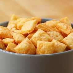 Homemade Cheese Crackers by Tasty