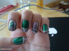 Green, silver, and purple alternative french