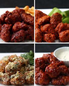 Chicken Poppers 4 Ways