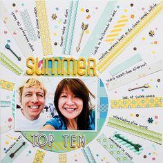 Summer Top Ten (Write Click Scrapbook) - Scrapbook.com