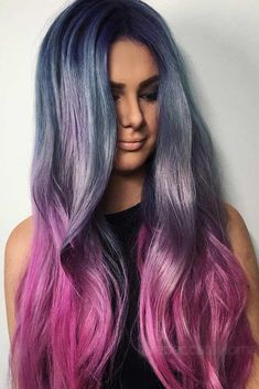 #Color Trendy Hair Color : Want to try ombre hair, but not sure what look? We have put together a list of t...
