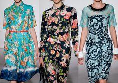 London Fashion Week   Spring/Summer 2013   Print Trend Highlights   Part 2 | catwalks
