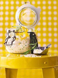 Zitronen - Rosmarin - Salz, ein tolles DIY Geschenk zum Muttertag