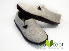 Woolen slippers Handmade Organic felted slippers for от ecofootua