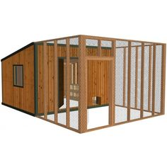 19 Easy-to-Follow Chicken Coop Plans - Build Your Own Coop 4sq ft per bird inside. 10sq ft per bird outside.