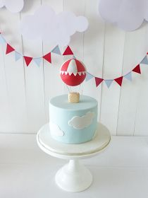 Peaceofcake ♥ Sweet Design: Hot Air Balloon Baby Shower