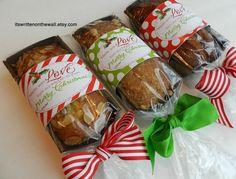 Christmas tags for your Yummy Christmas food gifts! Neighbor Christmas Gifts plus....