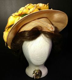 Hat Jack McConnell Red Feather Calla Lily Aurora Borealis AB Swarovski Derby #JackMcConnell #Gainsborough