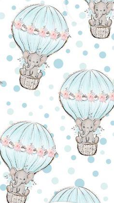 Baby Elephant Drawing, Baby Animal Drawings, Baby Drawing, Elephant Nursery, Nursery Art, Cute Drawings, Cute Disney Wallpaper, Wallpaper Iphone Disney, Cute Wallpapers