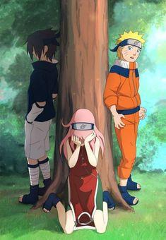 Image about anime in 🍜 🍥 Naruto 🍥 🍜 by Naho on We Heart It Naruto And Sasuke, Naruto Team 7, Naruto Shippuden Sasuke, Naruto Girls, Sakura And Sasuke, Boruto, Narusaku, Anime Fanfiction, Anime Ninja