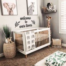 Safari Theme Nursery, Nursery Decor Boy, Boy Decor, Baby Room Decor, Jungle Safari, Jungle Nursery Boy, Girl Nursery, Ikea Nursery, Giraffe Nursery