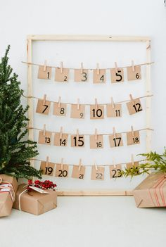 A yearly Christmas DIY Advent Calendar is such a great way to celebrate each day of the season. Plus we've got 40 Advent Calendar activities for the family! Advent Calendar Activities, Advent Calendars For Kids, Diy Advent Calendar, Calendar Ideas, Calendar Design, Christmas Countdown, Christmas Calendar, Nordic Christmas, Christmas Crafts