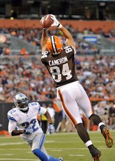 NFL Jersey's Mens Cleveland Browns Historic Logo Jordan Cameron Nike Brown Game Jersey