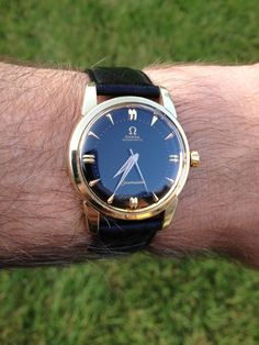Vintage OMEGA Seamaster Automatic In Gold Circa 1950s