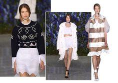 Paris Fashion Week : Christian Dior en fleurs