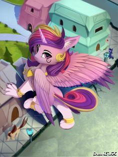 My Little Pony Cartoon, My Lil Pony, My Little Pony Pictures, Princess Cadence, My Little Pony Princess, Mlp Characters, My Little Pony Characters, Pony Breeds, Celestia And Luna