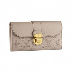 fbbd8f38189f Louis Vuitton - Mahina Iris Wallet (Sable)  Louisvuittonhandbags Louis  Vuitton Handbags