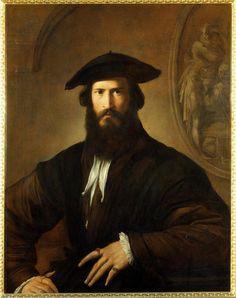 Girolamo Francesco Maria Mazzola (Parmigianino), Portrait of a Man, 1530-1