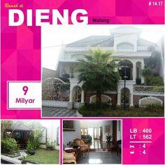 Rumah di Dieng kota Malang