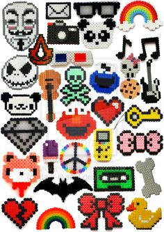 Some awesome perlers!