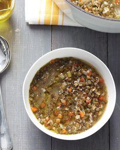 Lentil and Bulgur Soup Recipe