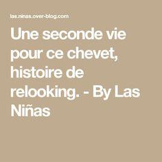 Une seconde vie pour ce chevet, histoire de relooking. - By Las Niñas
