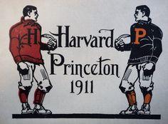 Harvard & Princeton 1911