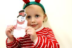 Click here to create a holiday miracle for one of the million kids hospitalized this holiday season.