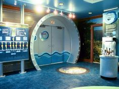 Pictures of the Blue Planet Water Museum. Museum design by Gelbach Designs for The Charlotte-Mecklenburg Utilities Department.