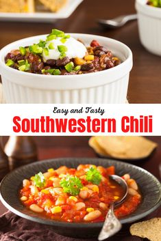 When the temperatures begin to drop it's time for some soul-warming food. Try our southwestern veggie chili on a cold night and you'll be feeling as snug as a bug in a rug in no time. It's an easy recipe that you can make with lots of the ingredients you'll find right in your pantry.