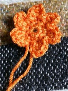 Tuto fleurs au crochet. Simples