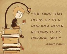 Reading opens up our minds!