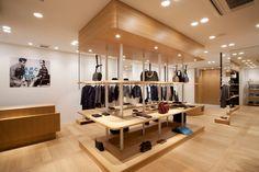 A.P.C. Store by Laurent Deroo, Sapporo – Japan » Retail Design Blog