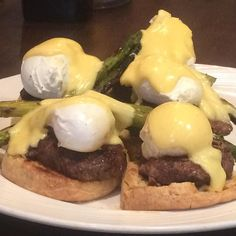 Steak Benedict for breakfast blogger dinner at @grille401 tonight. More scoop to come! #eggs #eggsbenedict #food #foodblogger #restaurant #foodie