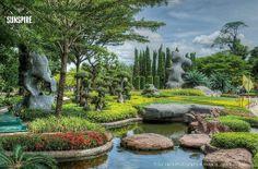 Wat Luang Phor Toh - Garden, Sikhiu, Nakhon Ratchasima, Thailand
