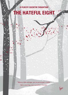 minimal minimalism minimalist movie poster chungkong film artwork hateful eight quentin tarantino Movies & TV