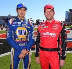 JRM teammates; Chase Elliott & Regan Smith
