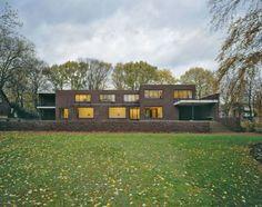 Museum Haus Lange, Krefeld Gartenseite, Süden