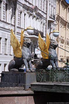 Bank Bridge, St Petersburg