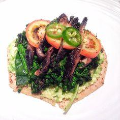 Abierto de verduras al grill