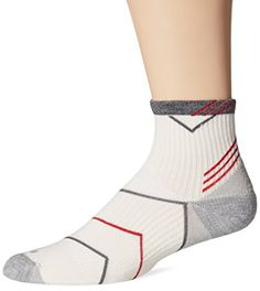 Sockwell Mens Incline Compression Quarter Socks MediumLarge Natural ** To view further for this item, visit the image link.