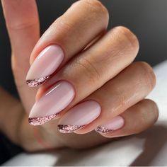 Chic Nails, Classy Nails, Stylish Nails, Trendy Nails, Manicure Nail Designs, Nail Manicure, Nail Art Designs, Gel Nails, Elegant Nail Designs