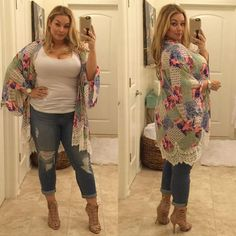 31 best plus size jeans summer outfits Plus Size plus size jeans Best Plus Size Jeans, Look Plus Size, Plus Size Women, Plus Size Fashion For Women Summer, Plus Size Girls, Jeans Size, Casual Work Outfits, Mode Outfits, Work Casual