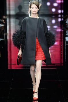 Armani Privé Fall 2014 Couture - Runway Photos - Vogue