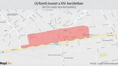 Óriási új fizetős parkolási övezet lesz Budapesten