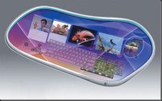 new cool awesome creative flexible future computer concept design technology