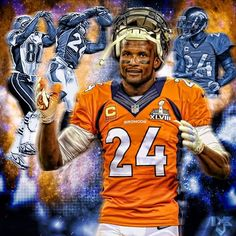 Champ Bailey - CB A Bronco For Life..........