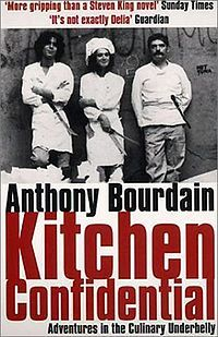 Before he was 'cool' he was 'that guy'...that guy that most of us that have ever worked in the 'biz' knows exactly who I am talking about. Anthony Bourdain's 'Kitchen Confidential' is funny as hell. Everything he says that happens in a restaurant, happens. Everything.