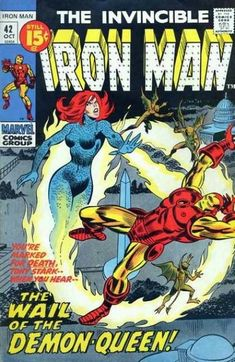 Iron Man 42 October 1971 Issue Marvel Comics by ViewObscura Marvel Dc Comics, Old Comics, Marvel Comic Books, Comic Book Heroes, Comic Books Art, Comic Art, Book Art, Marvel Heroes, Marvel Girls