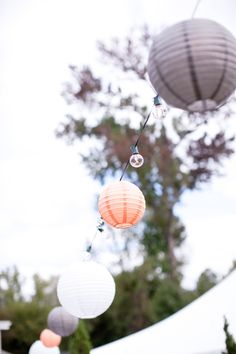 lanterns with bulbs.. love. LOVE LOVE LOVE